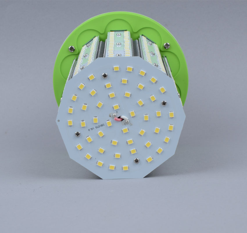 70W LED Corn Bulbs 9,100Lm Equal 275W HID External driver AC 347V~480V