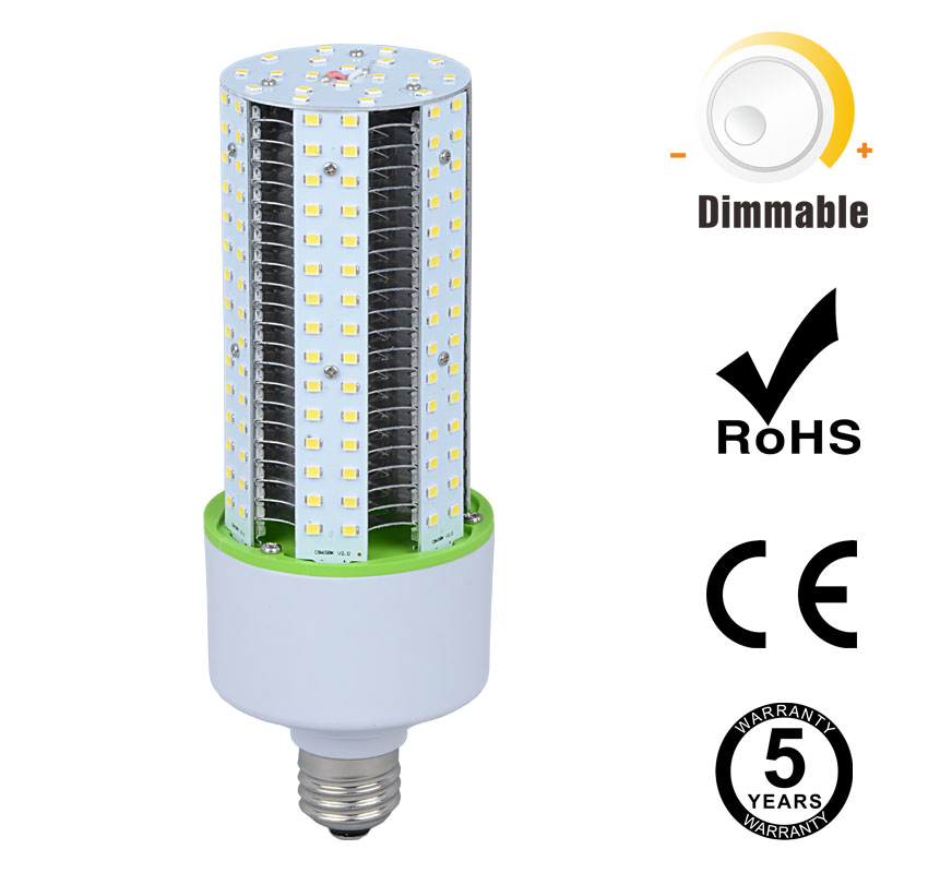 30W Dimmable LED Corn Bulbs 3,750Lm Equal 105W HID