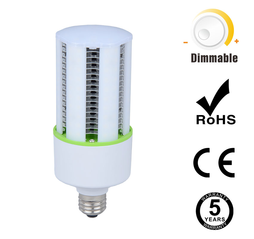 20W Dimmable LED Corn Bulbs 2500Lm Equal 75W HID