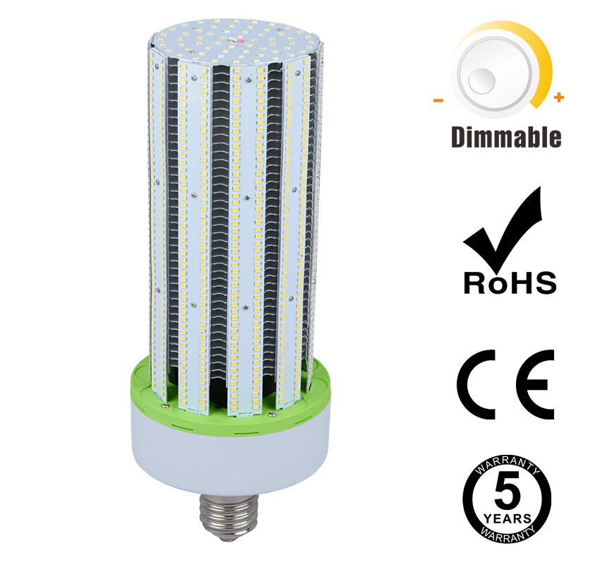 150W Dimmable LED Corn Bulbs 19500Lm Equal 500W HID
