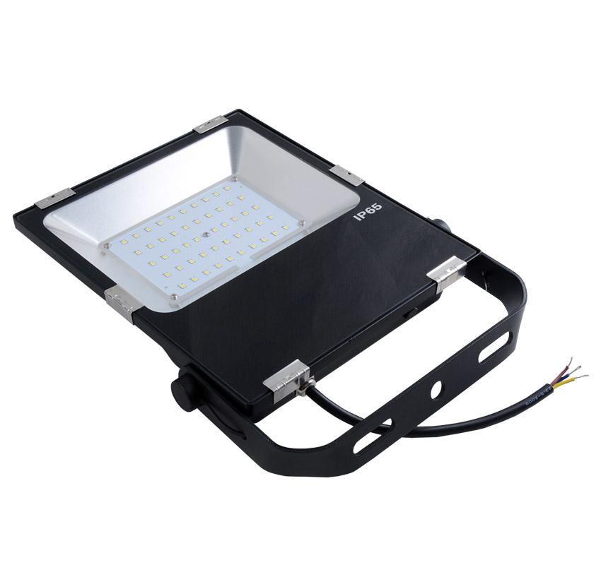 30W LED Flood Light Fixtures 3900Lm Waterproof CE RoHS SAA Ctick