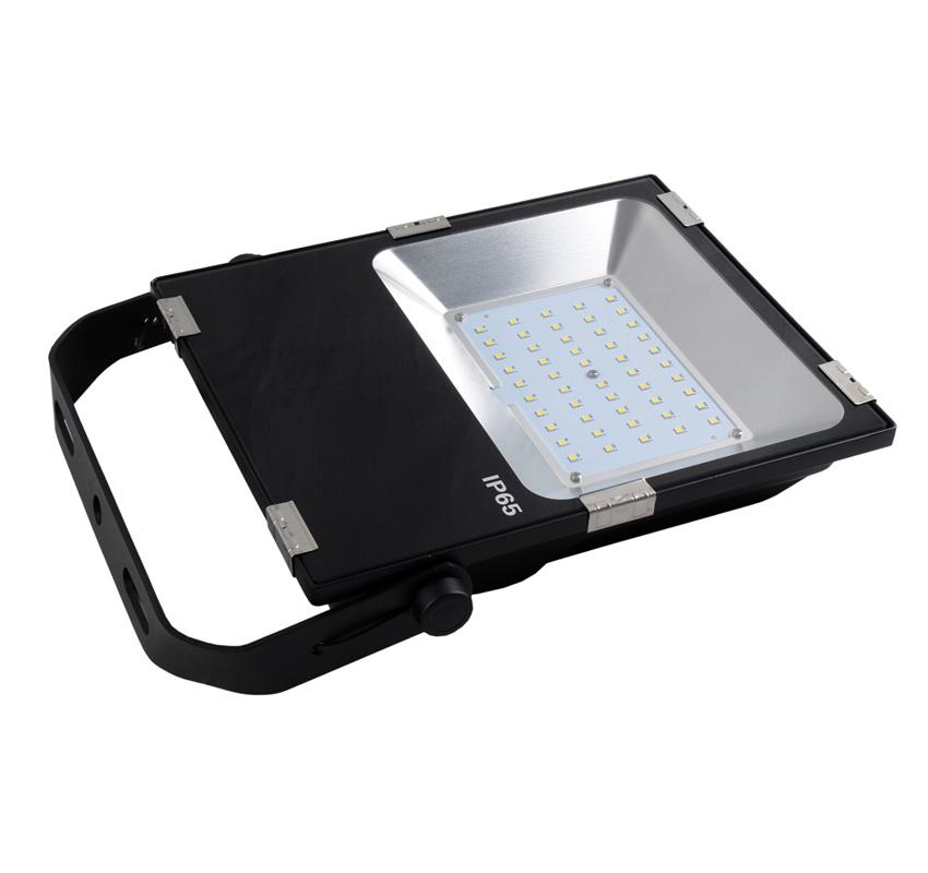 50W LED Flood Light Fixtures 6500Lm Waterproof CE RoHS SAA Ctick