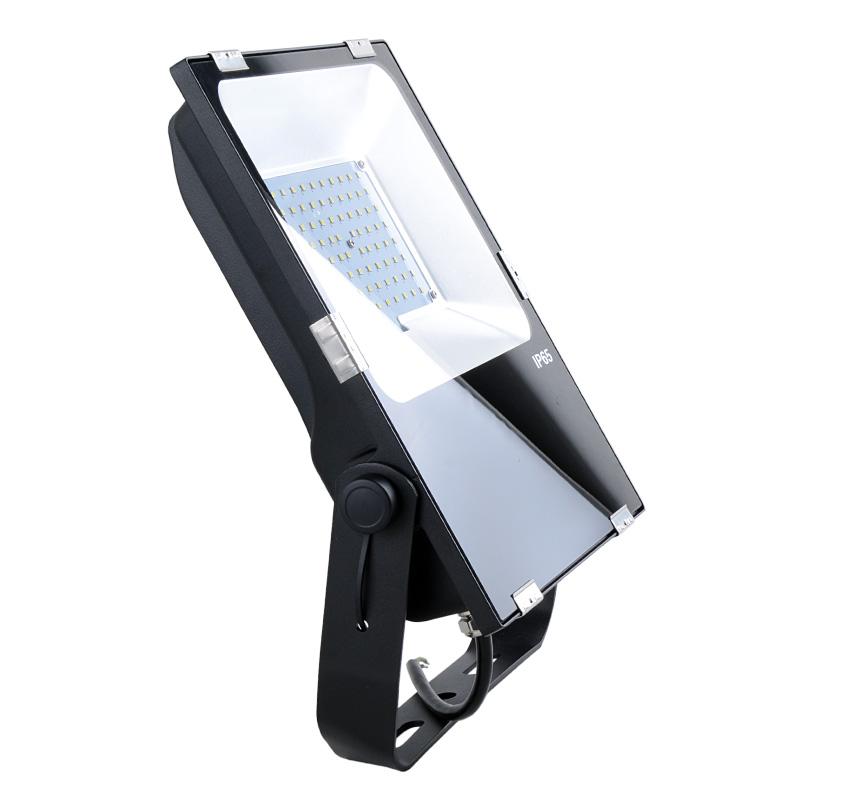 70W LED Flood Light Fixtures 9100Lm Waterproof CE RoHS SAA Ctick
