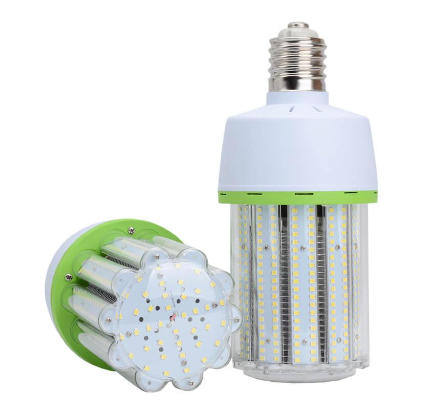 50W LED Corn Bulbs 6,250Lm Equal 225W HID External driver AC 347V~480V