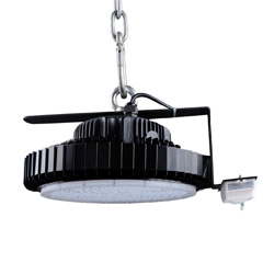 ufo led high bay light with Microwave Motion+daylight sensor