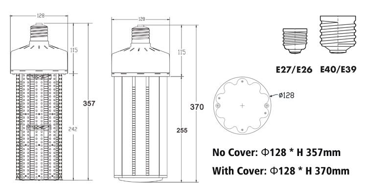 180W-200W led corn light size.jpg