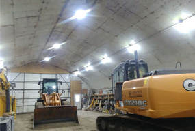 240W Hurricane UFO LED High Bay Light Fixtures