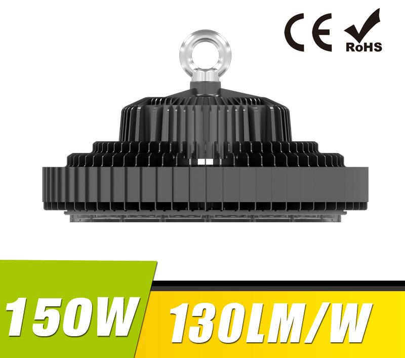 150W UFO LED High Bay Light 130Lm/W 19500 Lumen CE RoHS