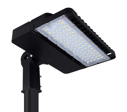 LED Shoebox Light Fixtures