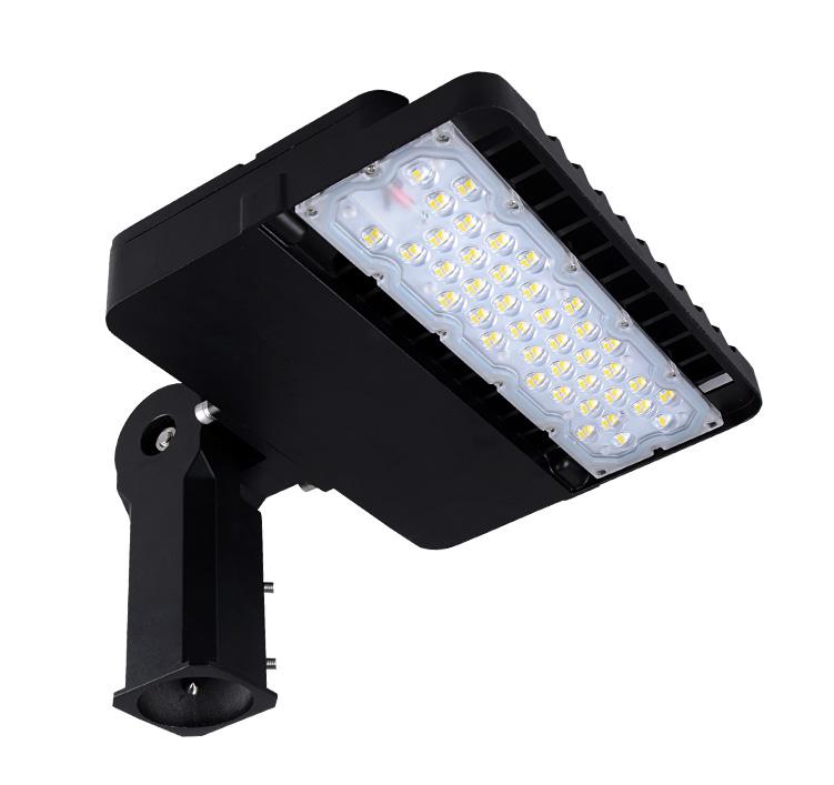 100W LED Shoebox Area Light Fixtures 170Lm/W 17000Lm