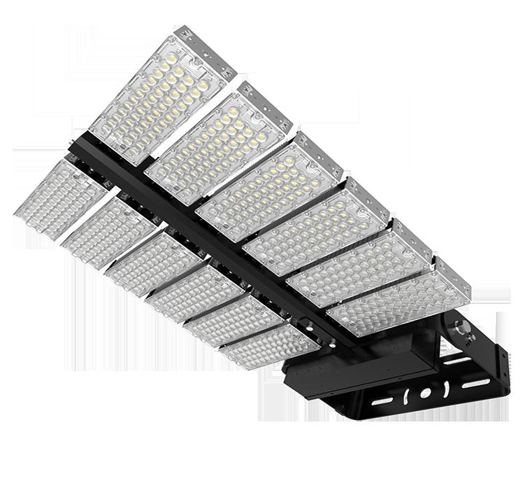 LED Large Stadium Lights - LED Sports high mast Lighting 1440W-223200 Lumen