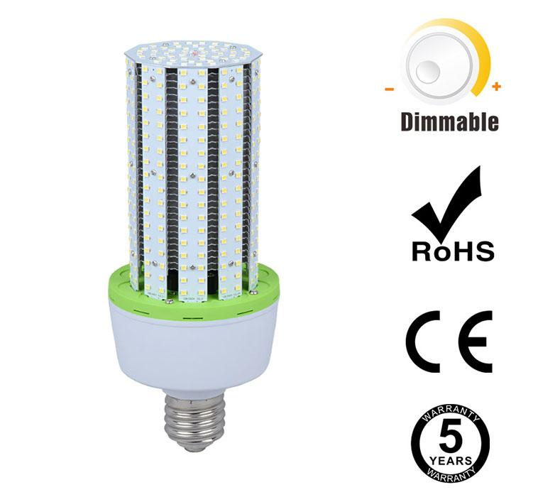 60W Dimmable LED Corn Bulbs 7800Lm Equal 250W HID