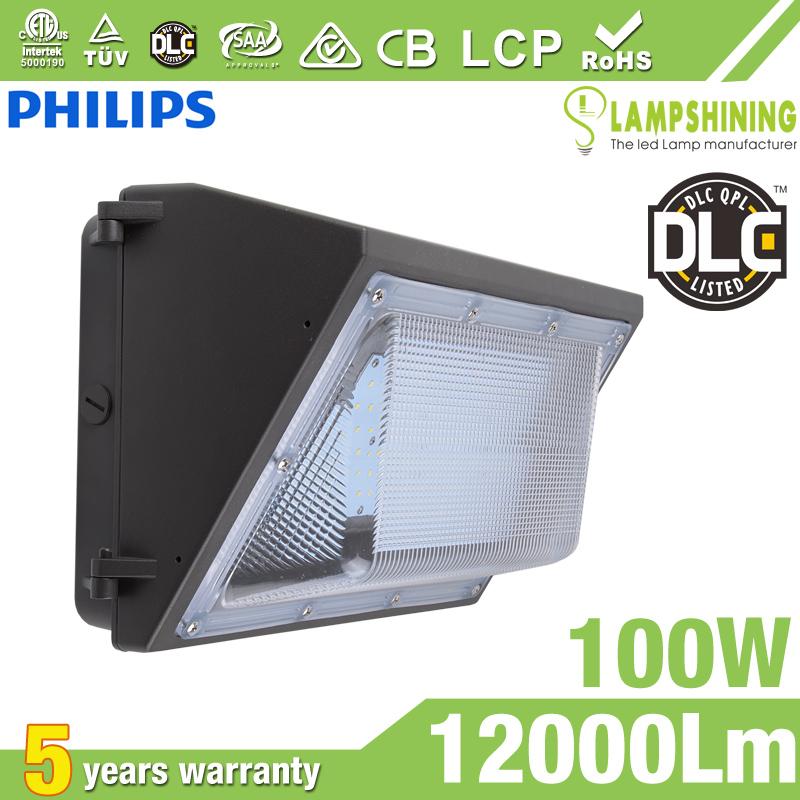 100W Semi Cut-off LED Wall Pack Lights,,12000 Lumens,IP65 waterproof