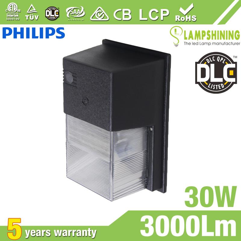 30W Semi Cut-off LED Wall Pack Lights,,3000 Lumens,IP65 waterproof