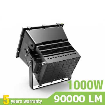 1000W LED Stadium Light,High Mast Light,90Lm/W,90000LM,IP66 Waterproof