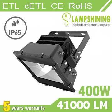 400W High power LED Stadium Light,High Mast Light,105Lm/W,41000LM,IP66 Waterproof