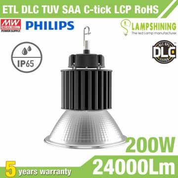 200W Round LED High Bay Light,24000 Lumens