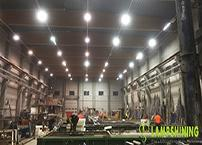 What are the advantages of LED lighting in industry?