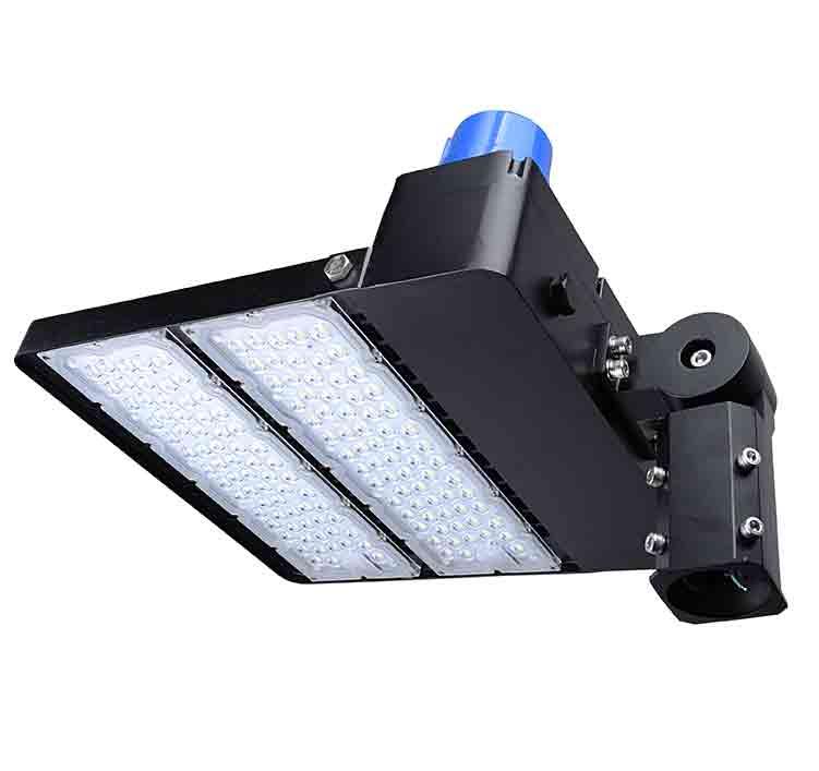 300W LED Shoebox Area Light Fixtures 130Lm/W 39000Lm