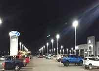 LED Parking Lot Lamp application