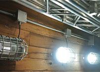 Replacing The Original 105W HPS With The 30W  LED Corn Light