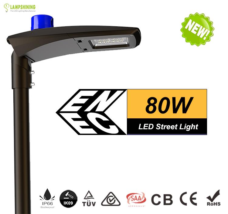 80w led street light -10400 Lumen-Waterproof IP66