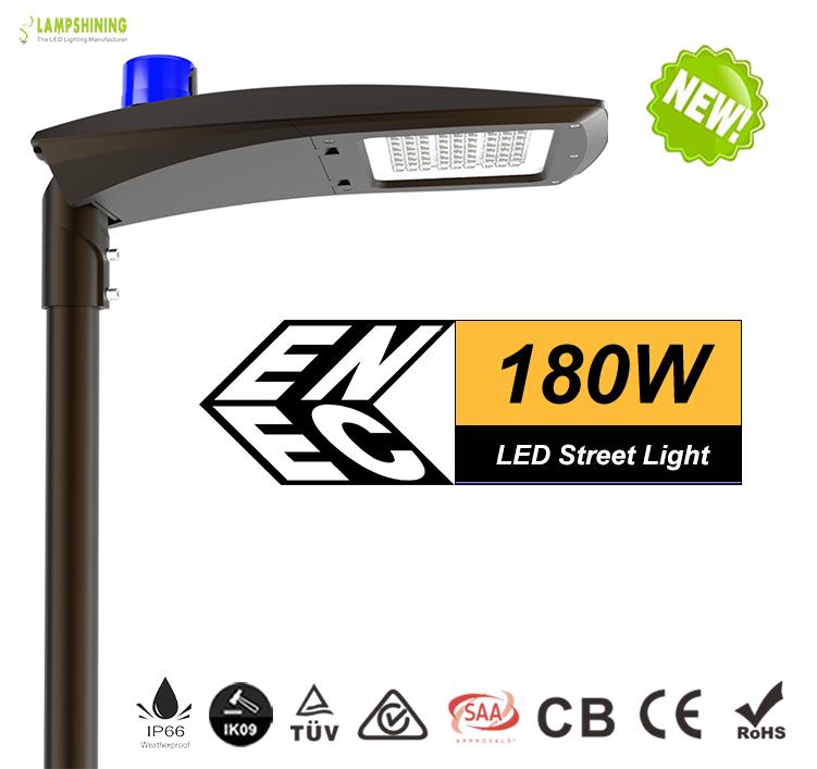 180w led street light -23400 Lumen-Waterproof IP66