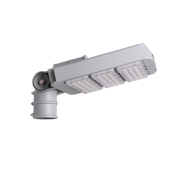 150W DLC TUV LED Street Light Arm Rotatable Meanwell daylight 6kg road Lighting 19000LM
