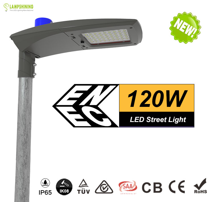 120W AC100-240 Meanwell LED Street Light with photocell