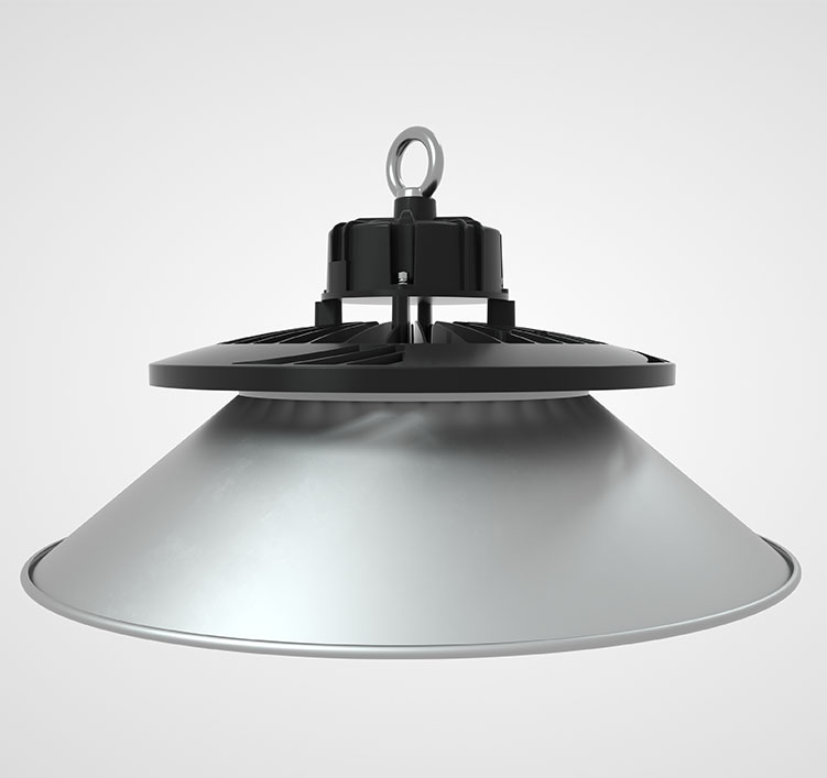 150W 130Lm/W 19500Lm Sosen Hurricane UFO High Bay Light Fixtures