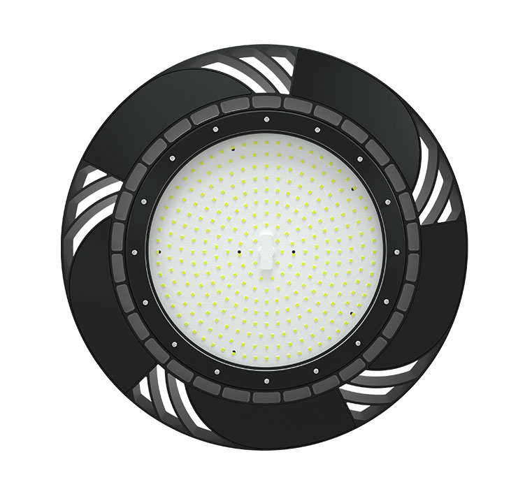 200W 130Lm/W 26000Lm Sosen Hurricane UFO High Bay Light Fixtures