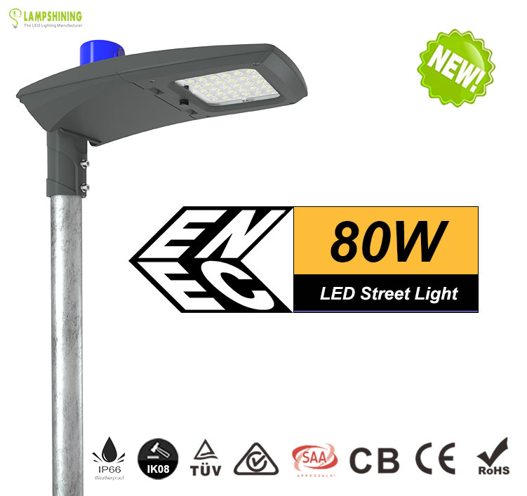 80w led street light -10400 Lumen-Waterproof IP66