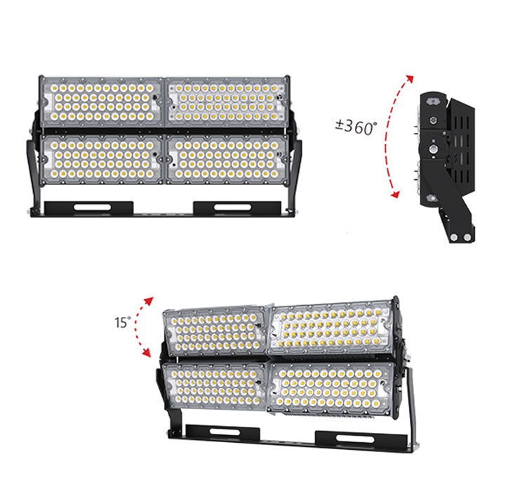 400W high quality LED High Mast Light | Outdoor LED Flood Lighting