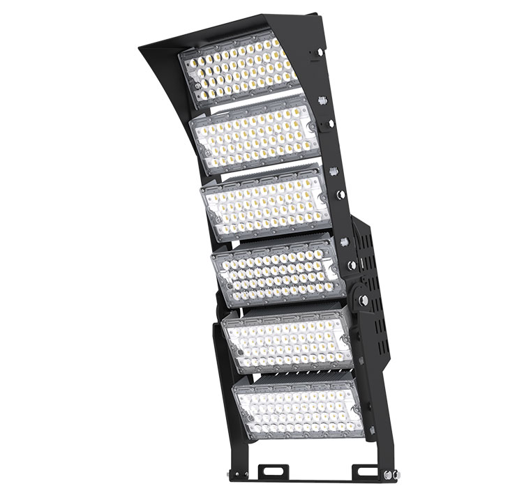 720W-A TUV SAA LED High Mast Light,Rotatable Module,155Lm/W,111,600 Lumen,IP65,Stadium Light,Sports Lighting,Flood Lighting