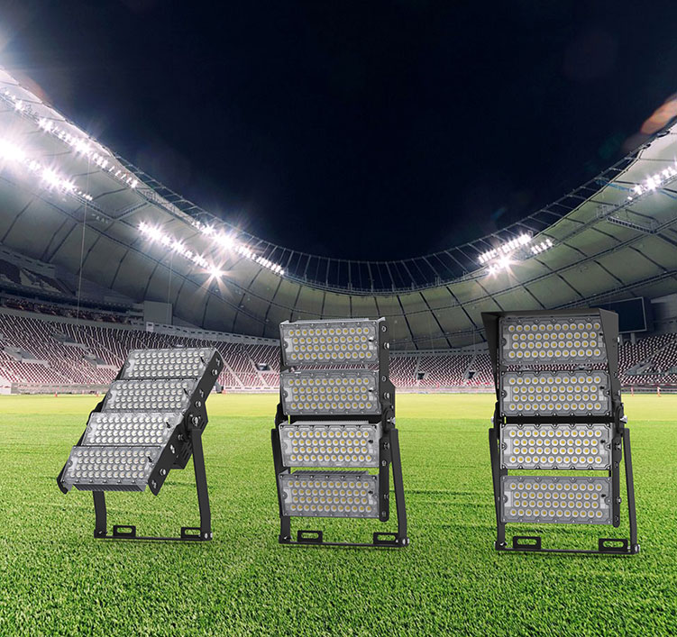 480W 155Lm/W LED Football pitch High Mast Lighting, Rotatable Module,74400 Lumen,IP65,Stadium Light,Sports Lighting,Flood Lighting