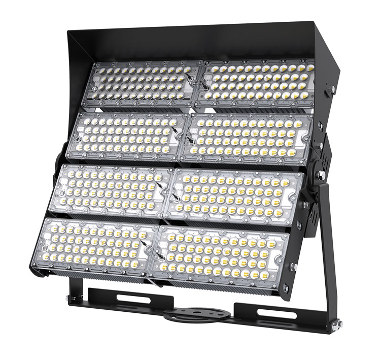 960W 148800 Lumens TUV SAA Outdoor Commercial LED High Pole Flood Lights in china