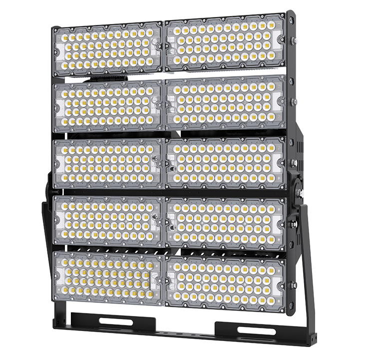 1200W TUV CE Rotatable LED High Mast Square Light in china