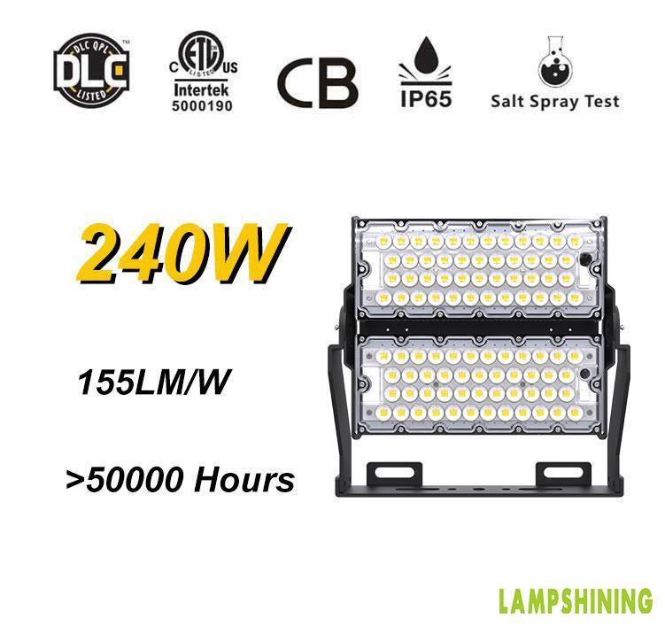 LED Stadium high mast Lighting Experts 240w,37800 Lumens for sale