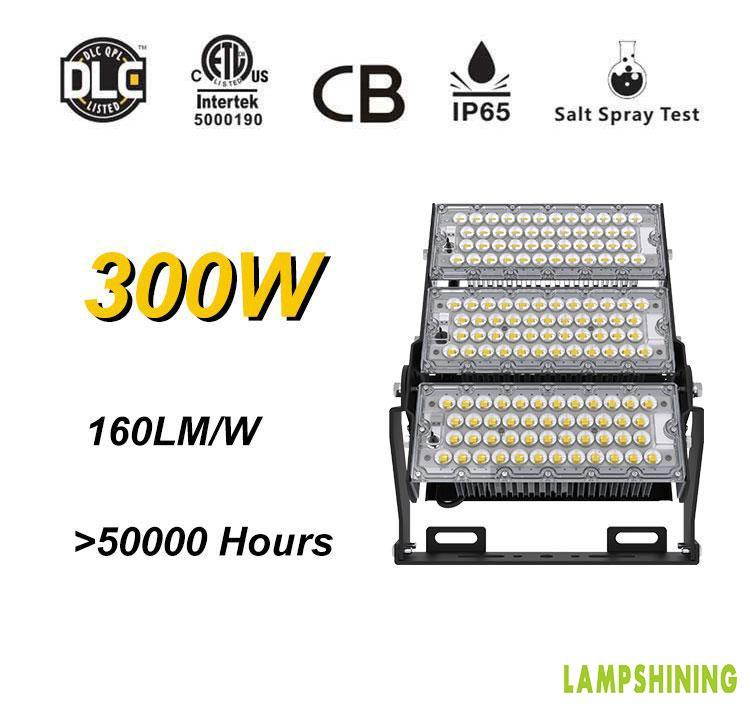 LED stadium high mast Light - 300w waterproof high pole lighting