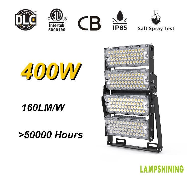 400W LED High Mast Light,Rotatable Module,160Lm/W,64000 Lumen,IP65,Stadium Light,Sports Lighting,Flood Lighting