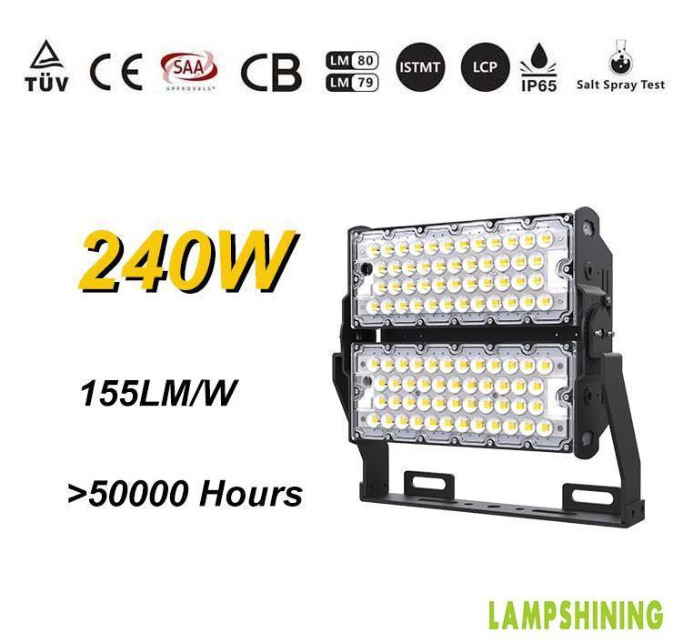 LED Flood Light For High Mast - 240w Outdoor LED Lighting