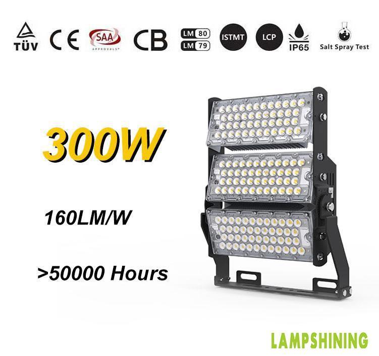 LED Stadium High Mast Light Manufacturers | 300w Flood Lighting Fixtures