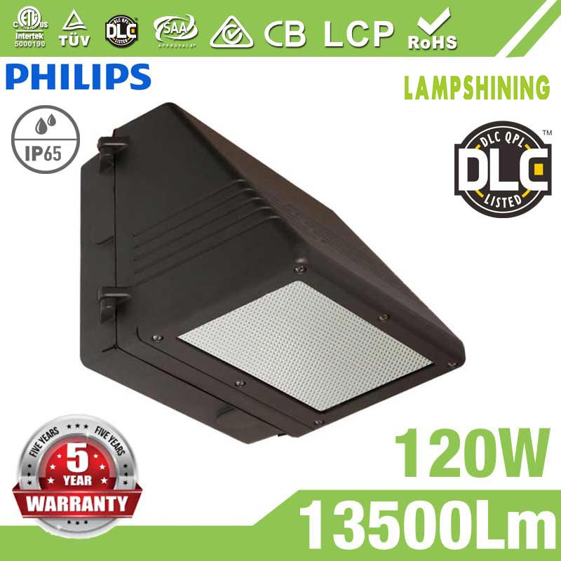 120W Full Cut-off LED Wall Pack Lights,,13500 Lumens,IP65 waterproof