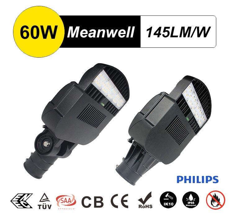 Philips Lumileds 3030 60W LED Street Light Head for Sale