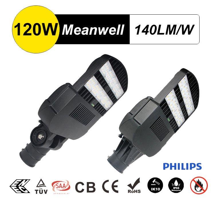 LED Street Light 120w IP67 IK10 3000-5700K IECEE CB Lumileds Street Lamp, Replacement 300W-400W HPS,MH,HQI