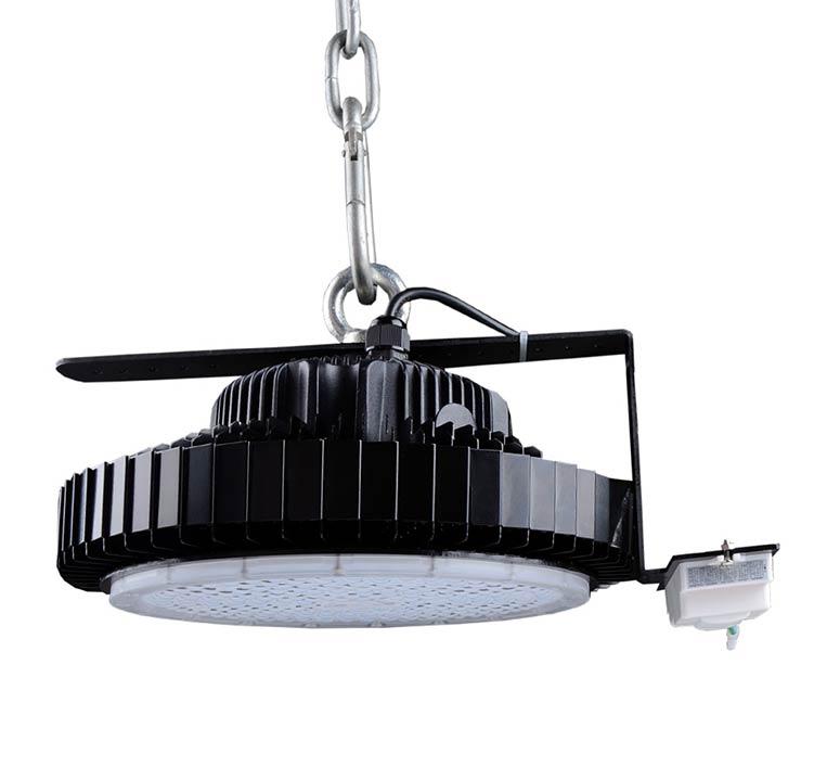120W UFO LED High Bay Light 120Lm/W 14400 Lumen ETL cETL DLC listed