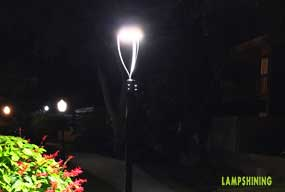 Active Feedback---LED POST TOP 60W Used In The Garden