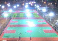 What basketball court lighting problems should you pay attention to?