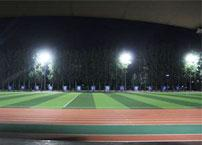 What are the factors to consider for sports field lighting?