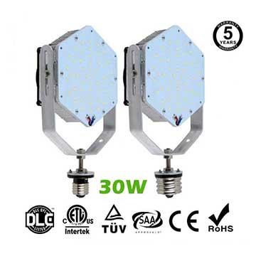 30W LED Retrofit Kits for 105W Metal Halide Fixtures Parking Lot Lighting Retrofit
